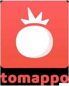 Tomappo logo square text