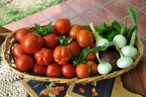 Basket of gardening joy