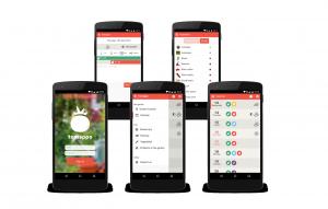 Mobile application for gardening